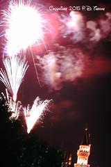 7-1-1968- Disneyland- Fireworks Castle B (foundslides) Tags: disney anaheim waltdisney themepark photo pics pix vintage retro slides foundslides pdthorne disneypark kodachrome kodak slidefilm found color awesome analog slidecollection irmarudd