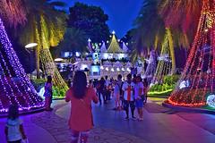 Symphony of Lights (chooyutshing) Tags: singapore sentosa attractions symphonyoflights beachplaza christmas2015festival showcaseoflights