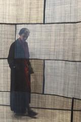 Indigo (Read2me) Tags: woman art museum mfa candid textile fabric shape rectangle duele cye gamewinner friendlychallenges thechallengefactory superherowinner materialcloth pregamesweepwinner challengeclubwinner