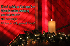 Merry Christmas! (Alexandra Rudge. Celebrating spring!) Tags: christmas red canon candle christmaslights christmasimage christmascomposition flickrhivemindgroup alexandrarudge alexandrarudgedigitalart alexandrarudgeimages alexandrarudgephotography