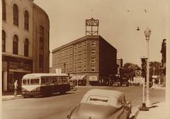 Hotel Rauf Street Scene, c 1940s