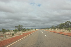 380 km marker (iainrmacaulay) Tags: highway australia barkly