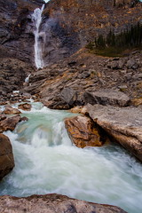 Power of Takakkaw Falls (stevenbulman44) Tags: autumn color water rock canon landscape waterfall outdoor filter waterfalls alberta lseries yohonationalpark 1740f40l