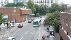 The last 73 (bobsmithgl100) Tags: busesexcetera mx08 zdz mx08zdz alexander dennis enviro200 bus route73 cawseyway woking surrey last journey