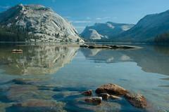 Tenaya Lake (jennneal818) Tags: yosemite national park 2016 road trip backpacking hiking lake tenaya ca california water mountains granite stone summer adventure adventures morning fall