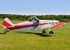 N6112Z 1960 PIPER PA-25 PAWNEE -   VSA 6 (massey_aero) Tags: vintagesailplaneassoc sailplane glider vsarally pa25 pawneepiper piperpawnee glidertowplane masseyaerodrome masseyairmuseum vsarallyatmassey