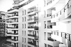Nanterre Residential Architecture (Peter Greenway) Tags: towerblock architecture parisien businessbuilding officeblock reflection paris modernarchitecture reflective france