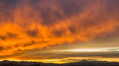 Fire in the sky (LEXPIX_) Tags: sunrise morning red sky clouds camels hump rx100 lexpix