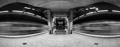 Oh_Yeah_02_BW (Beetwo77) Tags: fuji xt1 1024mm pano panorama blended public transport nsw trains edmonson park platform station railway western suburbs southwest