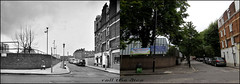 Bell Street`1975-2016 (roll the dice) Tags: flyover london londonist westminster paddington marylebone old architecture local history traffic bygone westway nostalgia sad mad muslim arabs changes collection fashion shops shopping nw8 victorian vanished demolished lights canon heritage oldandnew pastandpresent hereandnow streetfurniture nw1 retro uk art kids classic urban england council playground comparison school estate tower memory trees bollards wall van tourism flats view windows chimney