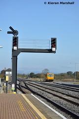 722 at Limerick Jn, 30/10/16 (hurricanemk1c) Tags: railways railway train trains irish rail irishrail iarnród éireann iarnródéireann 2016 722 inspectioncar limerickjunction