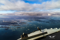 Sweden from the flight-deck (gc232) Tags: sweden aerial view live from flight deck golfcharlie232 fly flying plane airplane window canon g7x