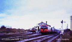 75.1831 Attymon Jctn. (Frank's Railway Photos) Tags: irishrailways attymon loughrea branchlines eisenbahnen mgwr metrovick aclass railwaygalway cie