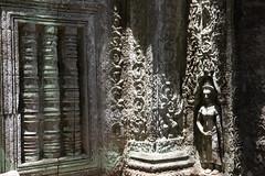 Ta Prohm ([Alexandre]) Tags: indonchina kmehr adventure sculpture art temple siemreap taprohm history culture backacking cambodia angkor explore basrelief krongsiemreap siemreapprovince kh