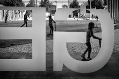 Roma, 2016 (Sergio_MI) Tags: skateboard street child play playground letters capitals frames blackandwhite outdoor rome maxxi