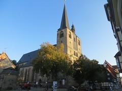 Quedlinburg: Marktkirche St. Benedikti (zug55) Tags: quedlinburg marktkirchestbenedikti stbenedikti marktkirche kirche church gotisch gothic deutschland germany sachsenanhalt saxonyanhalt harz unescoworldheritagesite unesco unescowelterbe welterbe worldheritagesite