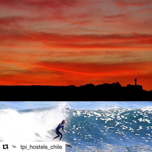#Repost @tpi_hostels_chile  ・・・ Lovely weekend from #puntadelobos . Thanks buddies for this great time from @The Sirena Insolente #hostelpichilemu #surfhostel #sunset #meettheworld  www.tpihostels.cl