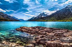 Montana over yonder... (Pat Kavanagh) Tags: watertonnationalpark watertonalberta canada panorama canadianrockies rockymountains montana supernatural albertatourism tourismalberta lake cryptlake