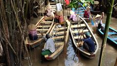 Traffic jam (Sarperdong) Tags: fujifilmph vietnam mekongriver boats nature hochiminh travel