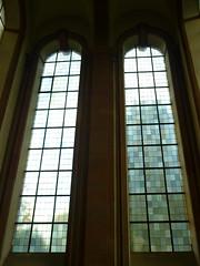 Kirchenfenster Kloster Himmerod (Jrg Paul Kaspari) Tags: klosterhimmerod zisterzienser kloster kirche church kirchenfenster window fenster quadrat quadratmuster muster minimal art farbwechsel farbspiel