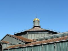 barcelona el born centre (kexi) Tags: barcelona catalonia spain europe elborn building roof sky blue samsung wb690 september 2015 instantfave architecture
