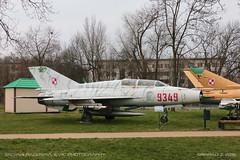 MiG-21UM (srkirad) Tags: mig21 mikoyan krakow museum poland aviation military polish soviet twoseat trainer tiger stripes