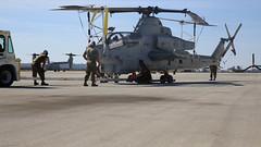 Viper getting ready to deploy (MarineCorpsAviationAssociation) Tags: 3rdmaw 3rdmarineaircraftwing camppendleton hmla267 mcas mcasmiramar marinelightattackhelicoptersquadron267 pfcliahkitchen stingers usmc viper usmarines marinecorpsairstationmiramar california unitedstates us