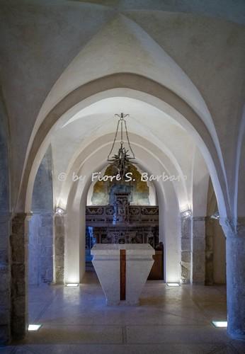 Sant'Angelo dei Lombardi (AV), 2016, Cripta della Cattedrale.