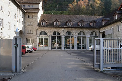 Amsteg - Hydroelectric Plant SBB