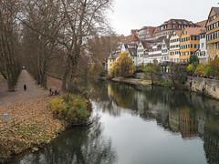 Tbingen (schauplatz) Tags: deutschland tbingen stadt city alley parkway avenue fluss river