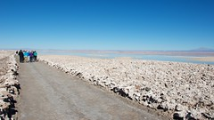 Salt Flat at the Los Flamencos National Reserve