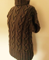 Knit Cabled Tunic (danila.diano) Tags: knitting handmade knit knitwear gedifra knittinglove iloveknit