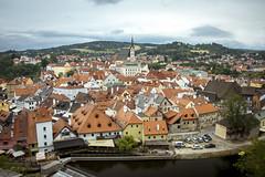esk Krumlov (UNESCO World Heritage Site) (bialobrody) Tags: panorama view unesco