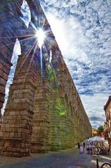 Segovia.- (ancama_99(toni)) Tags: sun sol architecture spain arquitectura nikon segovia acueducto 1000views 18105 10favs 10faves 25favs 25faves d7000