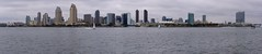 San Diego (Travis Estell) Tags: california panorama skyline boats bay sandiego southerncalifornia sandiegobay sandiegoskyline skylinepanorama