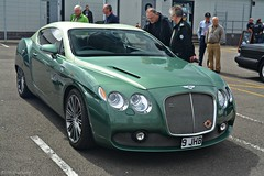 Bentley Continental GTZ (CA Photography2012) Tags: ca classic car photography continental grand automotive super special exotic silverstone british gt limited edition rare exclusive clube supercar bentley spotting drivers zagato tourer 2015 gtz coachbuilt 9jhb