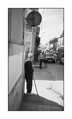 Always in shadow III (intasko) Tags: old urban bw man film monochrome mju atmosphere olympus vision algerie medea ville homme algerian