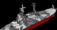 DNS Gibraltar6 (madmanthan21) Tags: war ship lego battle ww2 guns battleship heavy turret cruiser worldwar2 alternateuniverse battlecruiser pacificwar supercruiser heavycruiser alternatehistory legoship largecruiser