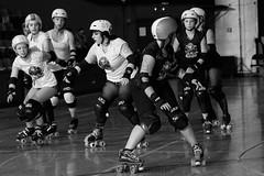 skulls_vs_scars_L1063307 1 (nocklebeast) Tags: ca usa santacruz rollerderby rollergirls skates sugarskulls groms juniorderby bumperscars santacruzderbygroms