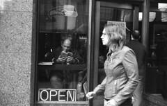Poor man's leica (Ben Mecham) Tags: seattle film monochrome portraits canon blackwhite place kodak tmax streetphotography 400 17 40mm pike candids canonet ql17 bnw f17