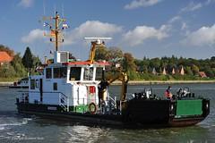 Sehestedt (Bernhard Fuchs) Tags: boat nikon ship ships vessel polizei schiffe nok kstenwache kielcanal sehestedt schifffahrtspolizei