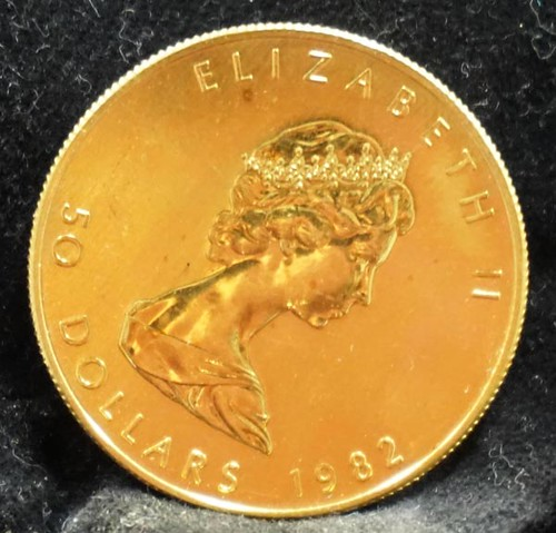 1982 Elizabeth II Gold Coin ($1,232.00)