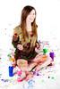 Paint Project (Arctic Revolution Studios) Tags: sexy wet girl beautiful asian paint lingerie arctic revolution messy slime studios wam gunge