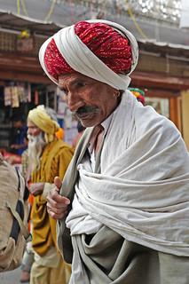 Red Turban...