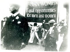 Demonstrations, Strikes, Marches, Processions: suffrage parade c.1908