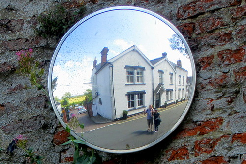 Reflecting on a nice town called Beccles.