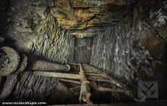 Ladder shaft - Fahrtenschacht (Reviersteiger) Tags: schacht abandonedmines untertage bergwerke altbergbau untertagefotografie stillgelegtebergwerke historischerbergbau wwwreviersteigercom verlassenebergwerke verlassenegruben