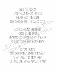 Jaz So Ready for Xmas #7INSIDEWM (Lizzy Love ♥ Oddball Art Co.) Tags: santa christmas cute eye art love reindeer cards big holidays paintings hats creepy antlers elf fox kawaii greeting bats lizzy 2015 oddballart