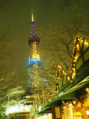 PC170135 (mina_371001) Tags: winter snow beautiful japan sapporo hokkaido    tvtower   odoripark winterevent photographywork olympusomdem10