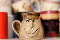 Mr.Mugg (Gillian Floyd Photography) Tags: mug pottery face gurning smileonsunday cupsandmugs